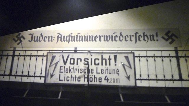 Leipzig 2013 – Stadtgeschichtliches Museum – Juden: Aufnimmerwiedersehn