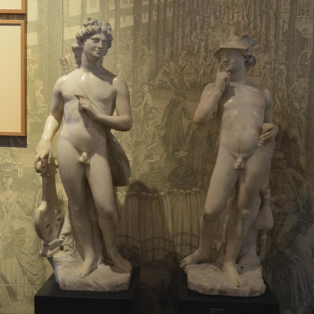 Leipzig 2013 – Stadtgeschichtliches Museum – Apollo & Mercurius
