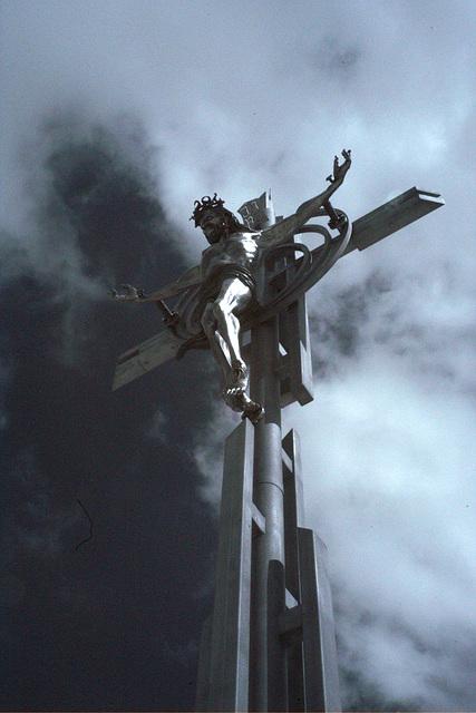 Farm Implement Crucifix