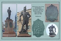 2nd Royal Sussex Regiment 1882 to 1902 Memorial - Eastbourne