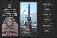 Hastings Memorial to the fallen in the South African War of 1899 - 1902 - 16.12.2011
