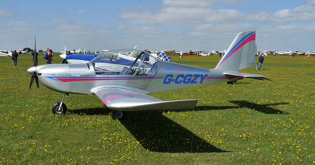 Cosmick EV-97 Teameurostar UK G-CGZY