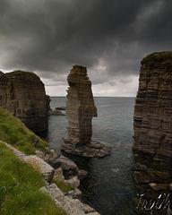 Stacks - Castle Sinclair Girnigoe