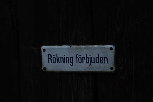"""Smoking Forbidden"""