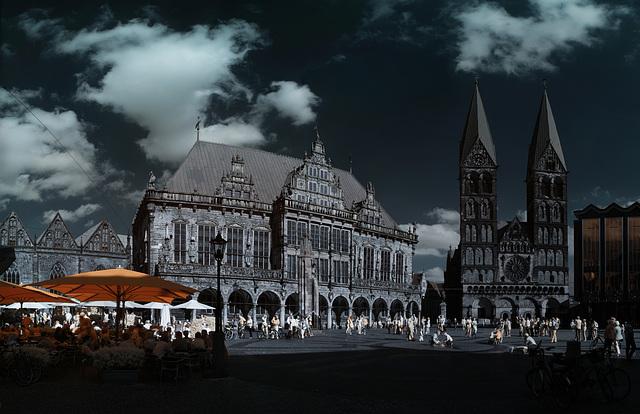 Bremen - IR Panorama