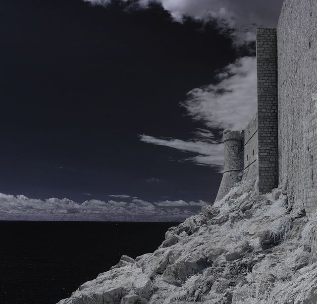 Dubrovnik - Infrared Panorama