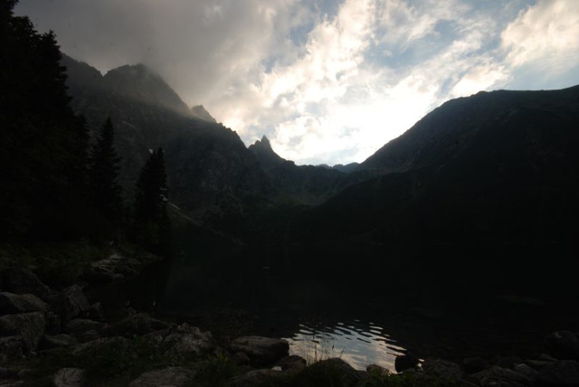 Morskie Oko Sunset