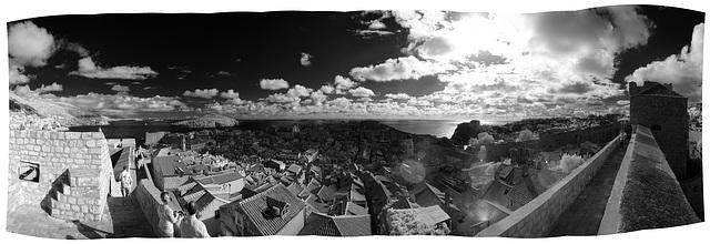 Dubrovnik - Infrared Panorama
