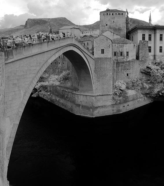 Mostar - Infrared Panorama
