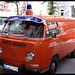Historic firefighter car