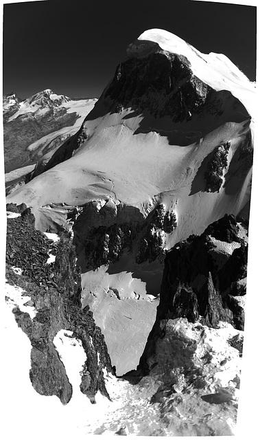 Matterhorn/Gornergrat - Infrared Panorama