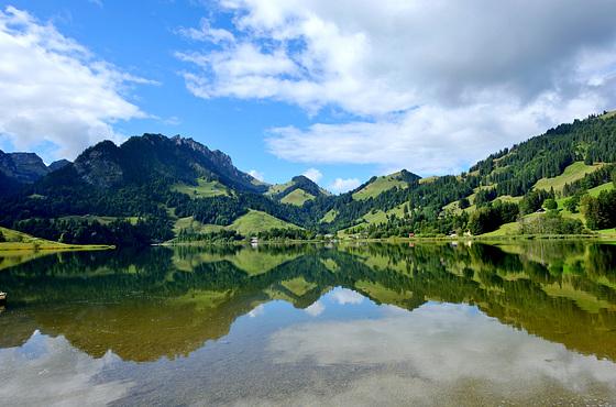 Schwarzsee (1047 m. alt.)
