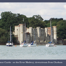 Upnor Castle from the Medway
