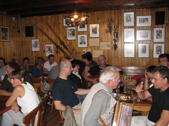 Party at Zamskovskeho Chata
