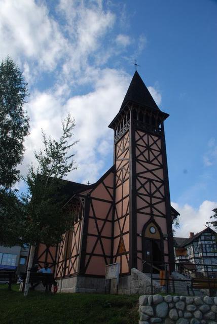 Timber-Frame Church