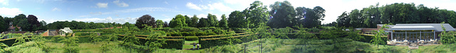 Panorama at Scampston