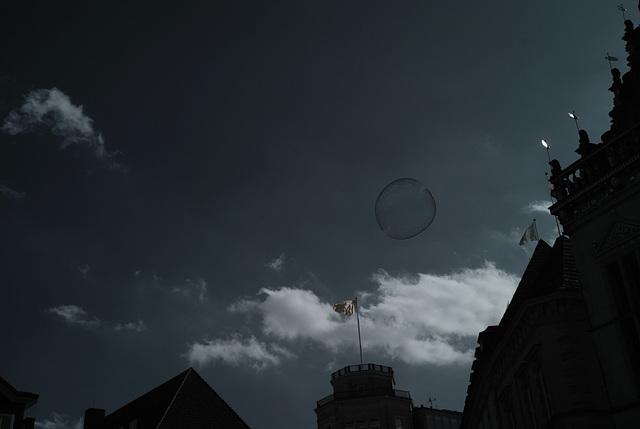 Infrared Soap Bubble