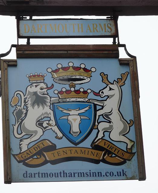 'Dartmouth Arms Inn' Pub Sign