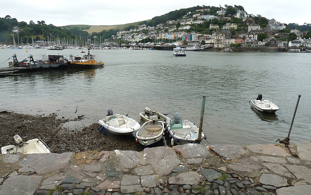 View Across the River Dart from Bayards Cove, Dartmouth