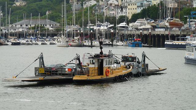 Dartmouth to Kingswear Ferry