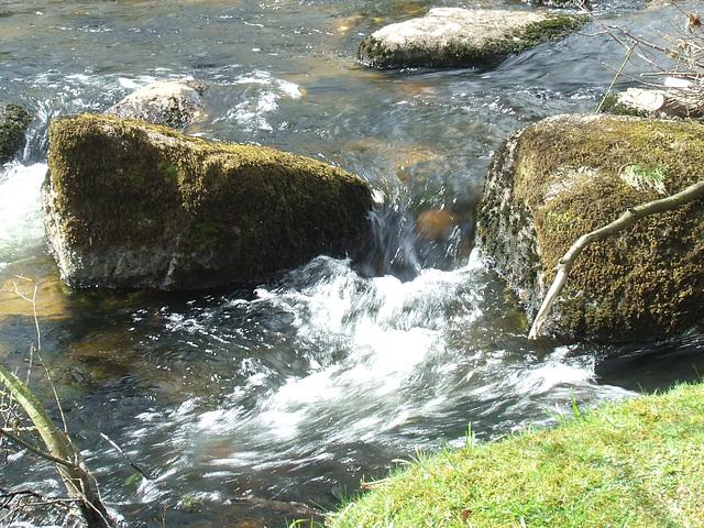 Fast flowing waters