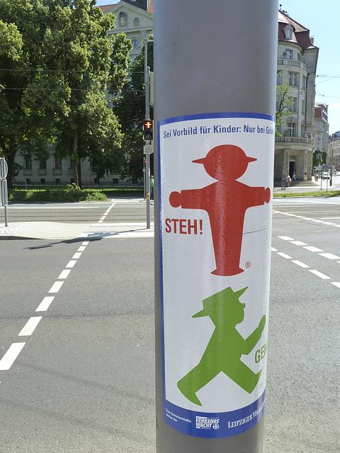Leipzig 2013 – Ampelmann