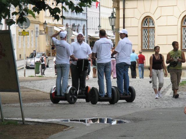 Segway Tourists