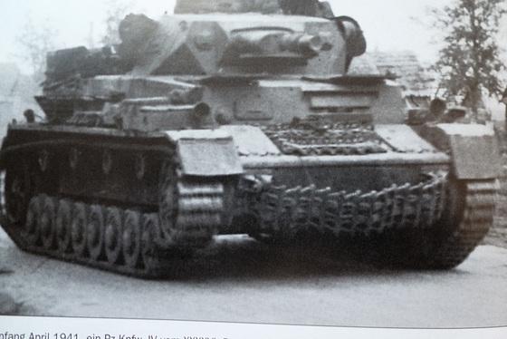 Deutscher Panzer im 2. Weltkrieg