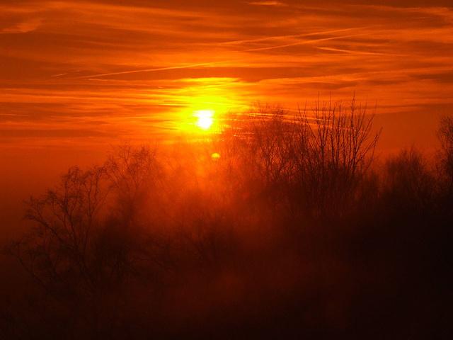 Sunset going....