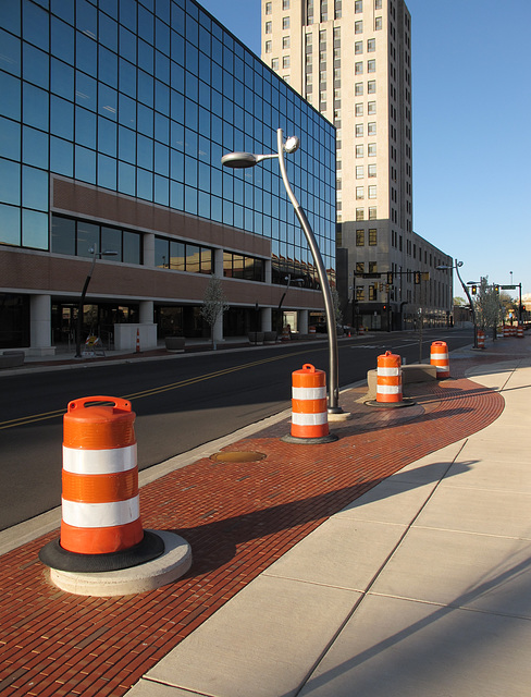 Swoopiness ideas for the infrastructure of downtown Battle Creek, Michigan.