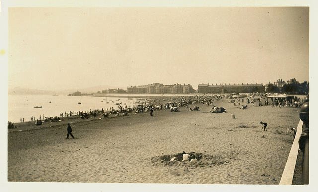 Exmouth, July 1926.