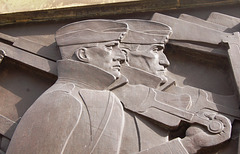 Detail of the Cenotaph, Liverpool