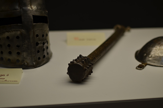 Templar Mace and Helmet
