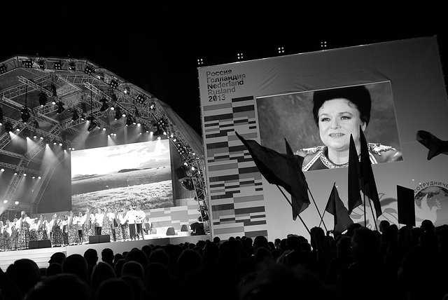 2013 is the Netherlands-Russia year / concert Museumplein Amsterdam