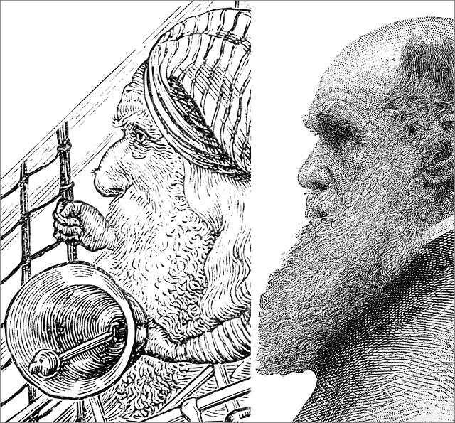 The Bellman and Charles Darwin