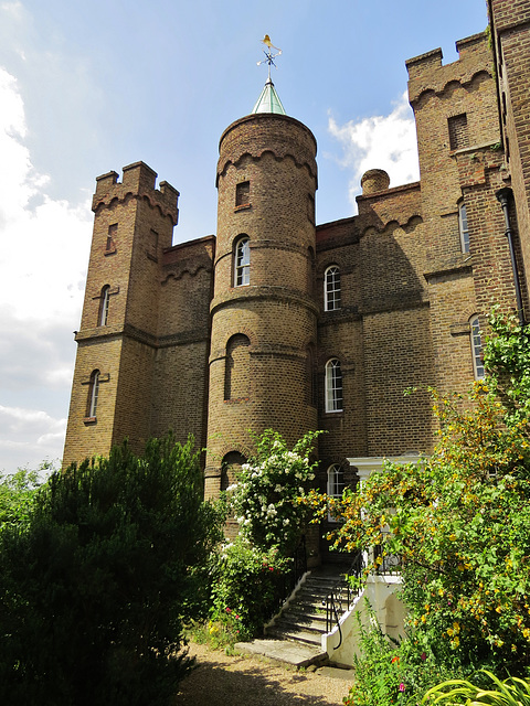 vanbrugh castle, greenwich, london