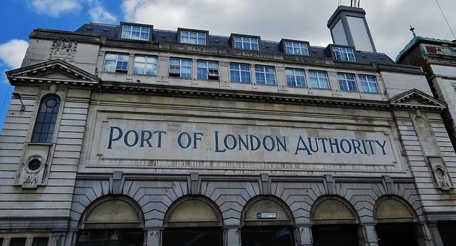 port of london authority building, smithfield, london