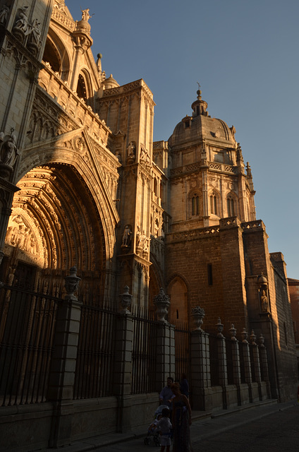 Cathedral in the Evening