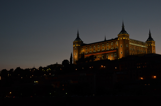Alcazar at Sunset