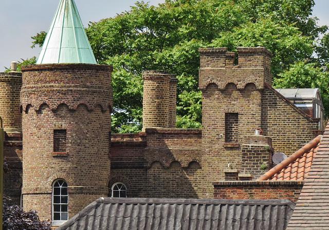 vanbrugh castle, greenwich, london