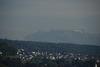 Hazy Alps
