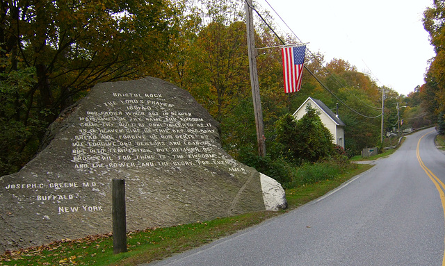 Lord's Prayer Rock, 107 Years Later