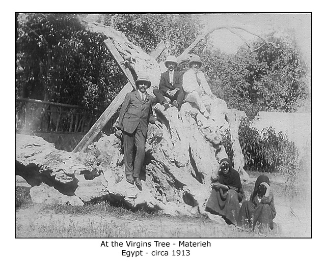 At the Virgins Tree Materieh c1913