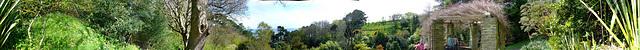 Coleton Fishacre Panorama