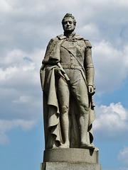 william IV statue, greenwich park, london