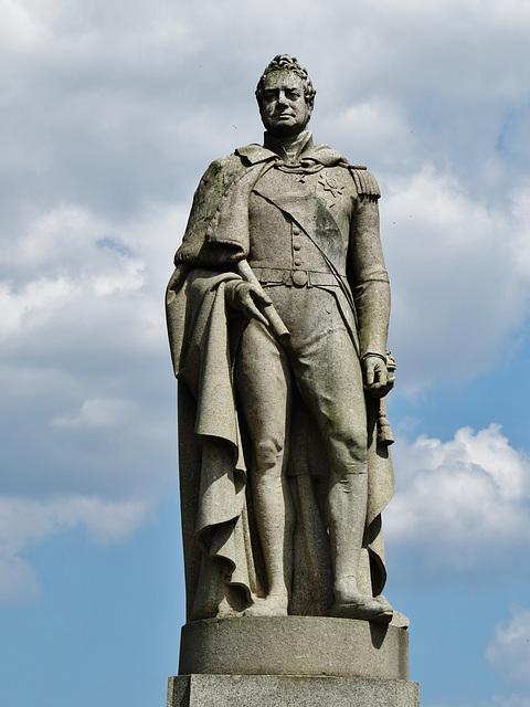 william IV statue, greenwich park, london