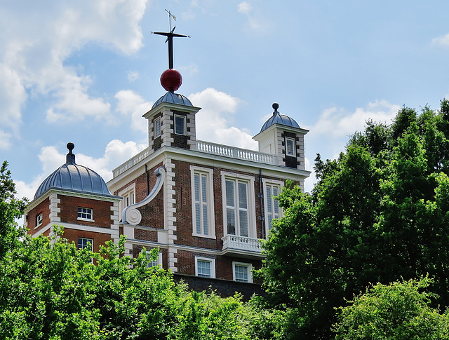 old royal observatory, greenwich park, london