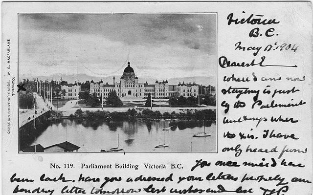 Parliament Building, Victoria, B.C.