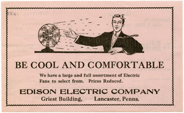 Be Cool and Comfortable with an Edison Electric Company Fan