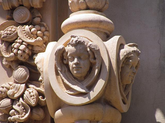Detail of Casa del Prado Ornamentation
